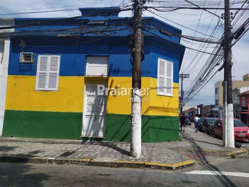 Casa Comercial aluguel Centro São Vicente
