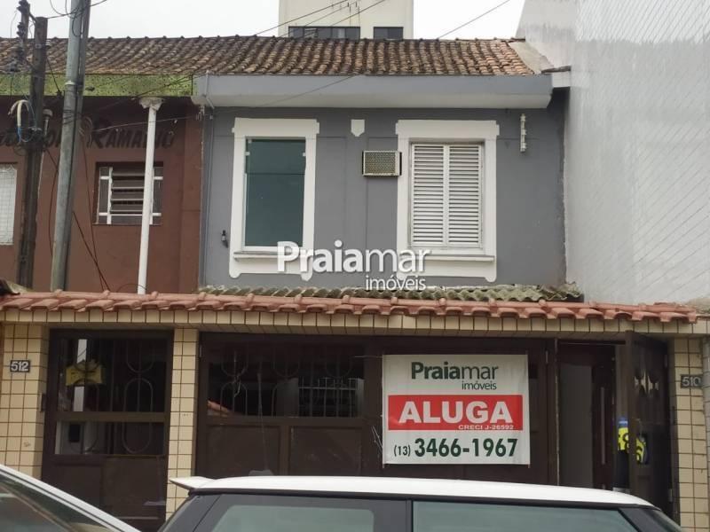 São Vicente Casa Comercial aluguel Centro